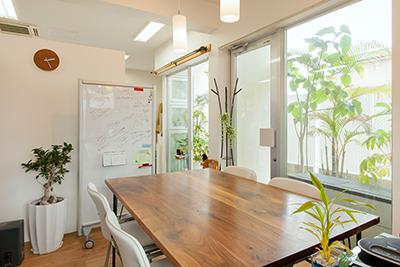 ジオデザインのミーティングルーム